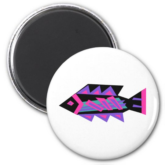 Funky Fish No1 Magnet