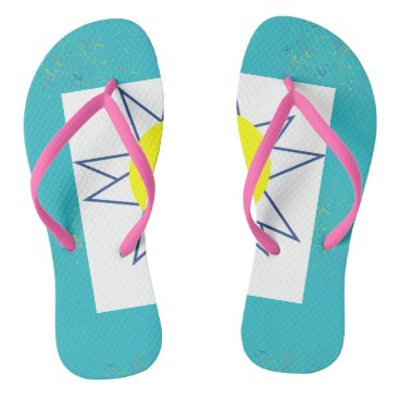 Beach Themed Funky Flip Flops