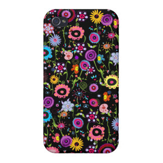 Funky Floral iPhone 4 Covers
