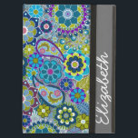 "Funky Floral Pattern with Name iPad Air Case<br><div class=""desc"">Modern and stylish design for any woman or professional. A cute and trendy design for women.</div>"