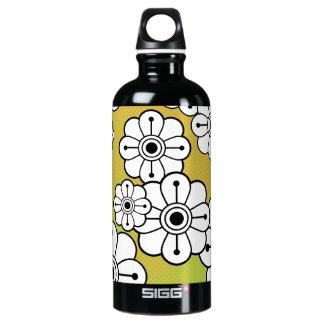 Funky Floral SIGG Traveler 0.6L Water Bottle