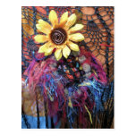 Funky Flower Post Cards