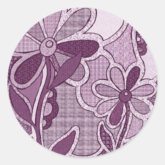 Funky Flower Stickers