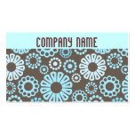 Funky Flowers Business Card Business Card