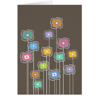 Funky Flowers Card