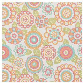 Funky Flowers Fabric