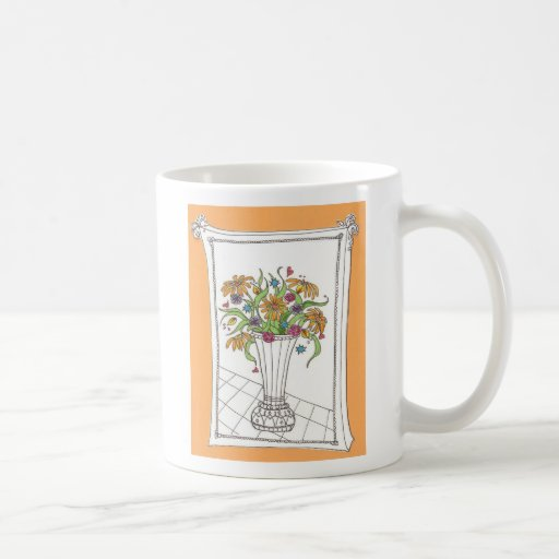 Funky Flowers, Happy Mother's Day! Mug