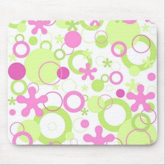 Funky flowers - Mousepad