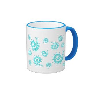 Funky Fossils Ringer Coffee Mug