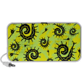 Funky Fossils Mp3 Speakers