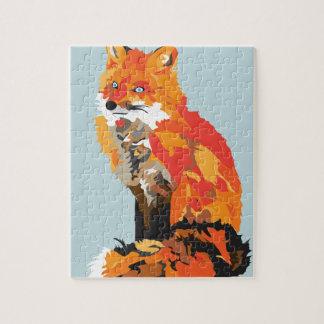 Funky Fox Jigsaw Puzzle