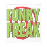 Funky Freak G Notepads