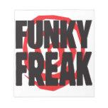 Funky Freak Memo Note Pad