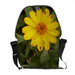 Funky Freckled Flower Art Bag! Courier Bags