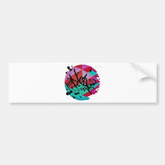 Funky fresh bumper sticker