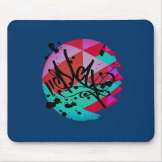 Funky fresh mouse pad