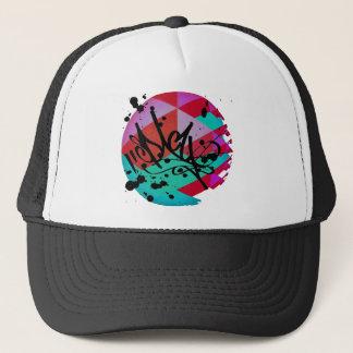 Funky fresh trucker hat