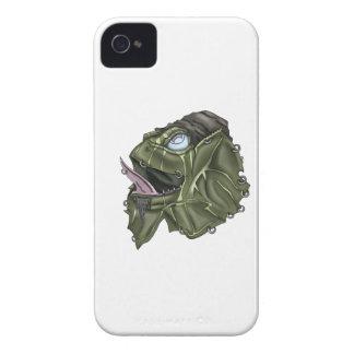 Funky Frill Lizard iPhone 4 Case