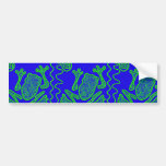 Funky Frog Colorful Toad Kids Doodle Art Gifts Car Bumper Sticker