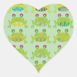 funky froggy frogs sticker