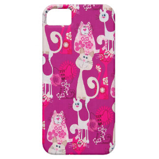 Funky Fun Cool Cats iPhone 5 iPhone SE/5/5s Case