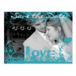 Funky Fun Save The Date with Your Photos Post Cards