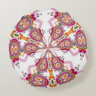 Funky fungus: Psilocybe Mexicana Round Pillow