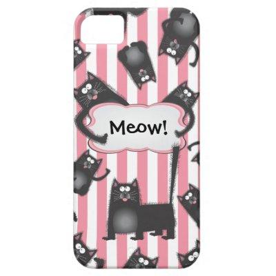 huge discount 1f457 a03fd Cute fuzzy cat Case-Mate iPhone case | Zazzle.com