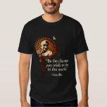 Funky Gandhi -Be the change Shirt