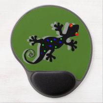 Funky Gecko - Lizard Lover Gifts Gel Mouse Pad