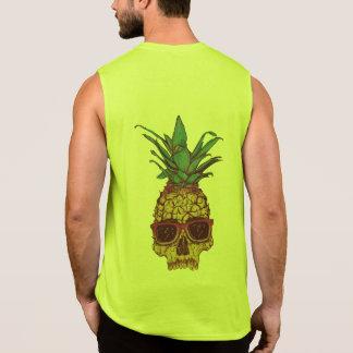 Funky Geek Cool Pineapple Punk Sleeveless Shirt