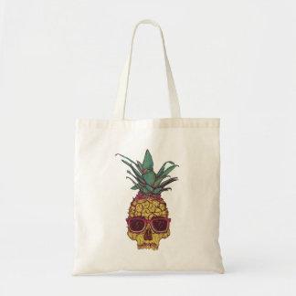Funky Geek Cool Pineapple Punk Tote Bag