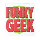 Funky Geek Note Pad