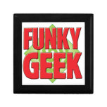 Funky Geek v2 Keepsake Box