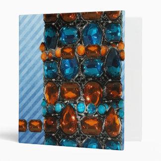 Funky Gem Jewel Sets notebook Binder