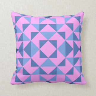 Funky geometric design scatter cushion