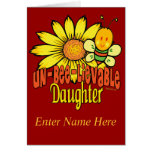 Funky Gifts For Daughters Greeting Card