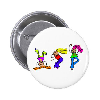 Funky Girls Button