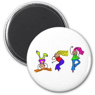Funky Girls Fridge Magnets