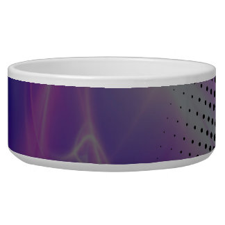 funky girly halftone textured bowl