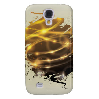 Funky glowing splatter light effect galaxy s4 case
