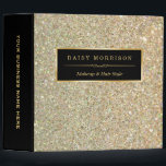 """Funky Gold Glitter Makeup Artist Beauty Salon 3 Ring Binder<br><div class=""""desc"""">================= ABOUT THIS DESIGN ================= Funky Gold Glitter Makeup Artist Beauty Salon Binder. (1) All text style, colors, sizes can be modified to fit your needs. (2) If you need any customization or matching items, please contact me. (3) You can find matching products (e.g. Business Card, Appointment Card, Flyer, Rack...</div>"""