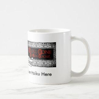 Funky Goth Haiku Bone logo Coffee Mug