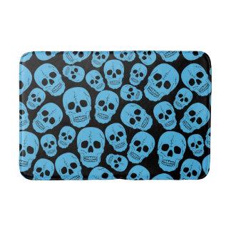 Funky Goth Skulls Bath Mat