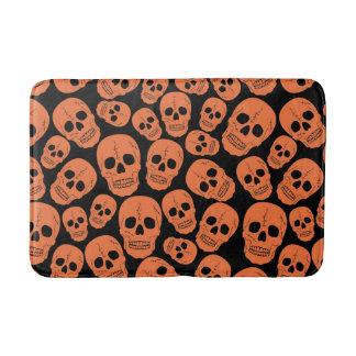 Funky Goth Skulls Bathroom Mat