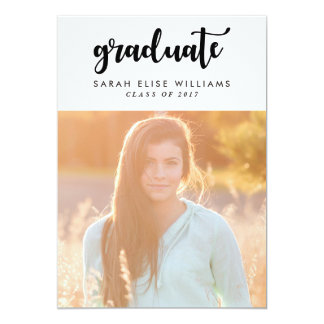 Funky Graduation Invitations