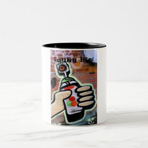 funky graffiti designs mugs