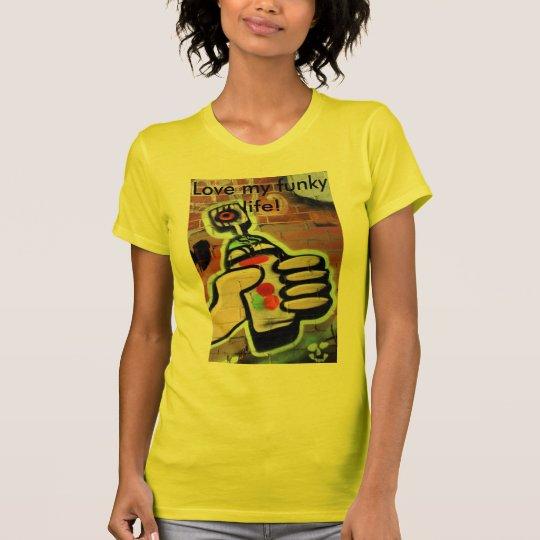 funky graffiti designs T-Shirt