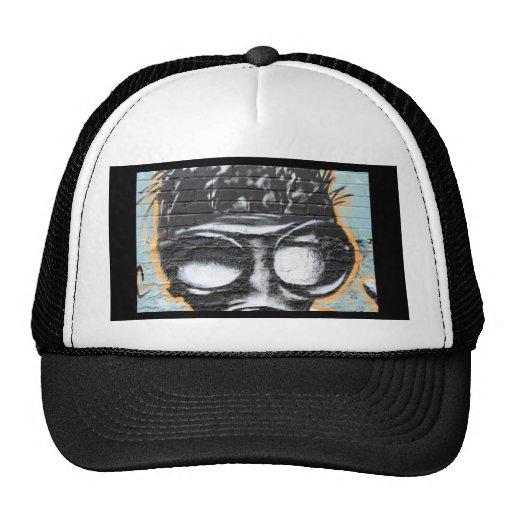 funky graffiti trucker hats