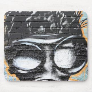 funky graffiti mouse pad